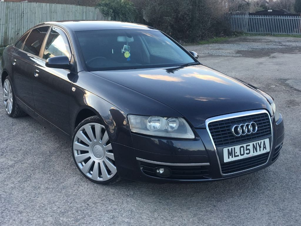 2005 Audi A6 2 4 V6 Met Black 6 Speed Long Mot In