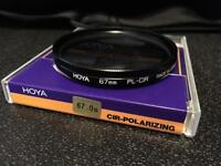 Hoya 67mm circular polariser filter