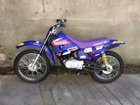 (LAST FEW AVAILABLE) BRAND SPANKING NEW SUZUKI 100cc KIDS SCAMBLERS MX BIKE UK DELIVERY AVAILABLE