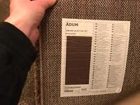 Large Brown Ikea Rug.