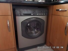 Hotpoint Aquarius WDL 540 P .C Washer Dryer - Metallic Silver - £225 ovno