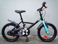 "(2142) 16"" 10.5"" B'TWIN PIRABIKE Boys Girls Kids Childs Bike Bicycle; Age: 4-6; Height: 105-120 cm"