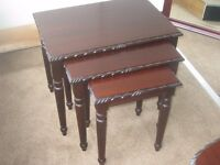 Gola Nest of Tables Very good condition