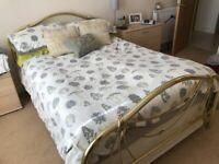 Slumberland double Bed and Mattress