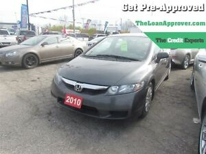 2010 Honda Civic DX * LOW KMS * GAS SAVER