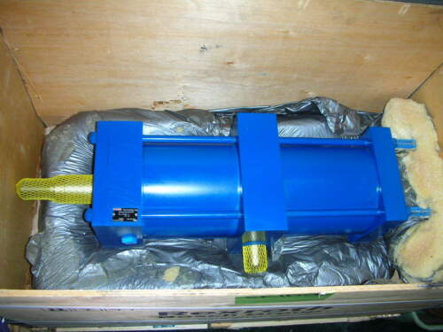 "REXROTH BOSCH PNEUMATIC CYLINDER MT4/MX2-PP 6"" Bore 13.25"" Stroke 250PSI NOS"
