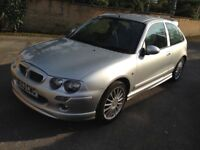 Mg zr 160 bhp 1.8 mot 81000 miles 2 previous owners service history 3 door track?