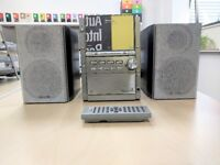 Panasonic radio, cd, cassette player