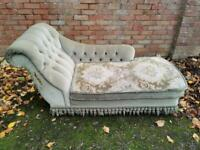 Beautiful Vintage Chaise Lounge