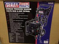 Pressure Washer 220bar 600ltr/hr 6.5hp Petrol