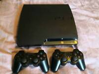 PS3 320gb, controllers and games