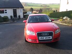 Audi A4 S line 2005 with leather seats and service history good condition