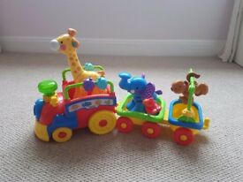 Fisher Price Amazing Animals Choo Choo Train baby toddler toy
