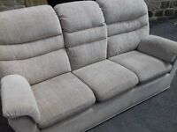 2 x Modern High Quality Sofas VERY GOOD Condition FREE delivery Sofy Fabric
