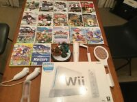 Nintendo Wii Console, 17 Games and Accessories Excellent Condition £80 ono