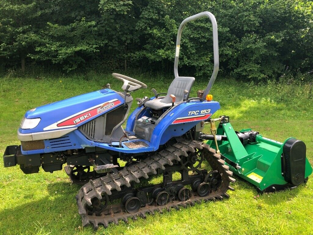 ISEKI TPC15 Compact Track Tractor with New Flail Mower **EXCELLENT  CONDITION** | in Gloucester, Gloucestershire | Gumtree