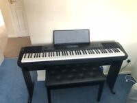 Casio CDP-230R Digital Stage Piano in Black Full Size