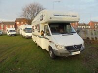 Autotrail Cheyenne 634 four berth motorhome with L shaped lounge for sale