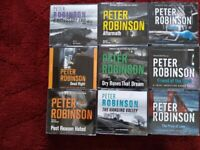 AUDIO BOOKS BY PETER ROBINSON