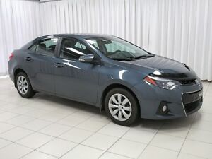 "2016 Toyota Corolla WOW ONLY 34KM! - """"S"""" MODEL - A/C - CRUISE"