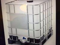 1000 ltr water tank