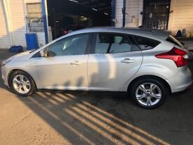 Ford focus 1.6 diesel MOT very low mileage 1 owner only 79,000 on the clock zero road tax