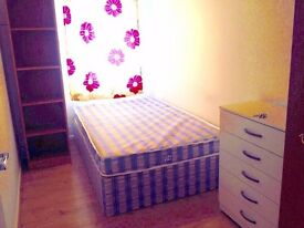 Fantastic small double room for single use available Now. .. All bills inc
