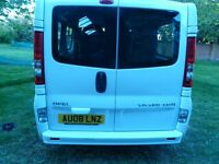 9 Seater Minibus - Vivaro