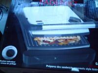 paderno panini grill