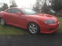 2005 HYUNDAI COUPE 1.6 FACELIFT MODEL ONLY 80,000 MILES FULL LEATHER INTERIOR