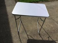 New Oypla 2ft 10in 88cm Folding Table