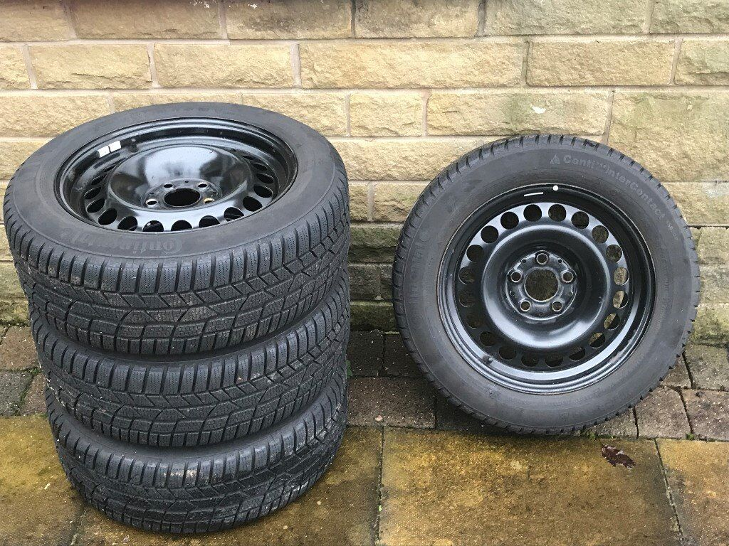 Wnter tyres on steel rims, Continental WinterContact