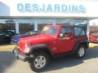 2011 JEEP WRANGLER SPORT 41000KM SHOWROOM *INSPECTÉ PAR FORD 132