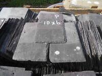 Reclaimed slates 10x6 ideal garden projects or Slate labels