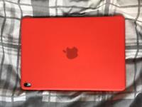 Official Apple iPad 9.7 silicon case in Product Red