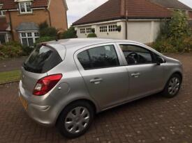 Vauxhall corsa 1.2 exclusive 60plate only 48000 miles service history 5 door