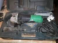 Hitachi 125mm angle grinder