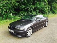 BMW E46 320CD CONVERTIBLE - DIESEL - LEATHER - M SPORT
