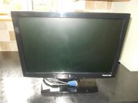 Packard Bell 19 inch computer monitor in black