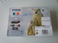 EPSON POLAR BEAR 26 INK CARTRIDGES