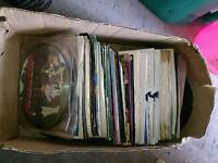 80's 7'' vinyl records assorted collection