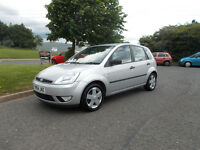 FORD FIESTA FLAME 5 DOOR HATCHBACK STUNNING SILVER 2004 BARGAIN ONLY 650 *LOOK* PX/DELIVERY