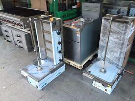 GAS 4 BURNER DONER KEBAB SAWARMA MACHINE COMMERCIAL KITCHEN EQUIPMENT RESTAURANT TAKEAWAY CHICKEN