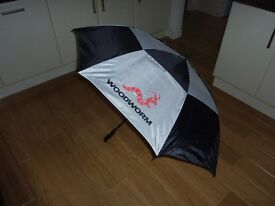 "Buy one 60"" Double Canopy Golf Umberella, get another one FREE!"