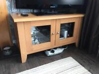 Matching TV cabinet, coffee table & stereo unit