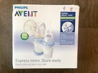 Philips Avent manual breast pump, RRP £40