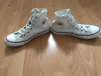 Converse Baseball Boots Size 5.5