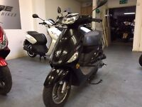 Peugeot V Clic 50cc Automatic Scooter, Black, Good Condition