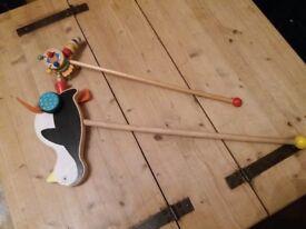 2x wooden toys £5