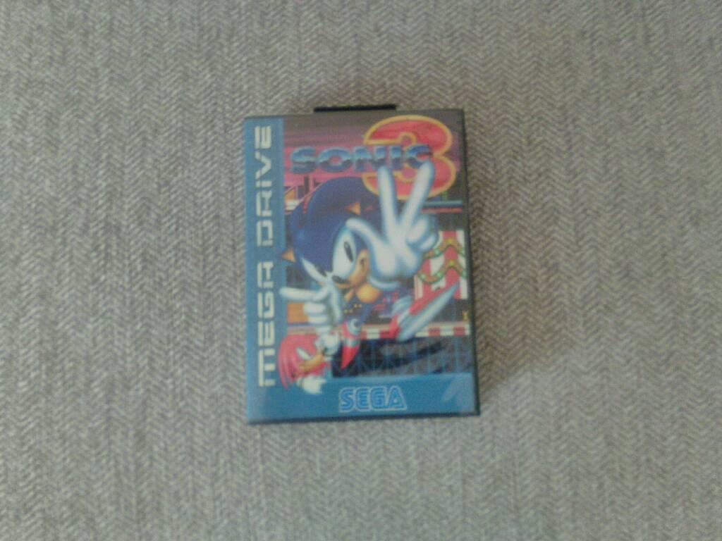 Sonic 3 Sega Megadrive PAL Version Reproduction